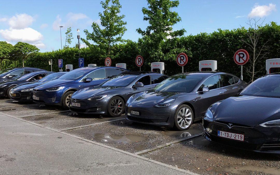 Elektromobily ve firmě