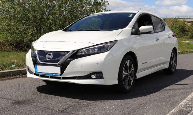 Nissan Leaf jako dospělý elektromobil