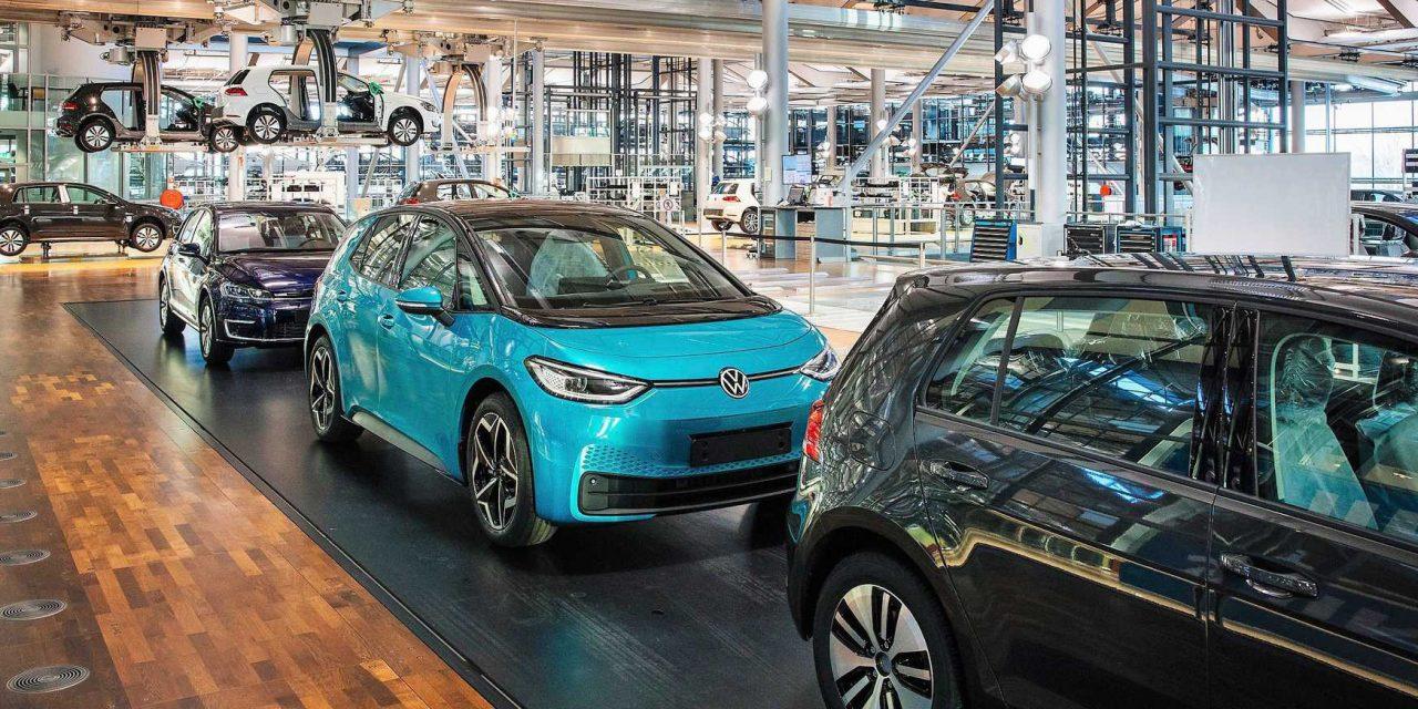 Volkswagen e-Golf skončil