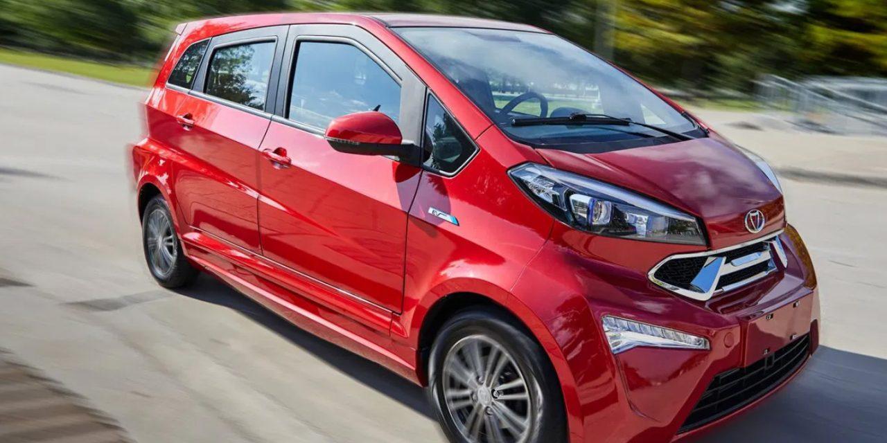 Elektromobil Kandi v Evropě?