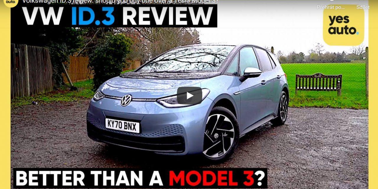 Je Volkswagen ID.3 lepší než Tesla 3?