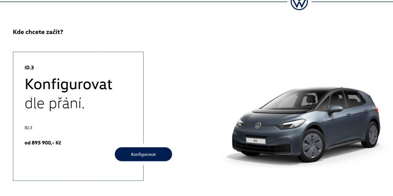 Volkswagen ID.3 City – když chcete ušetřit?