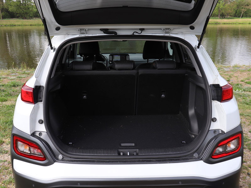 Hyundai Kona Electric kufr